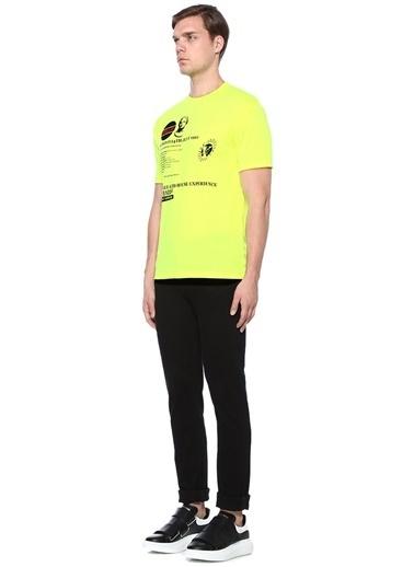 McQ Alexander McQueen Tişört Sarı